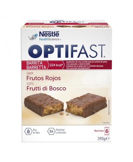 nestle' it.spa(healthcare nu.) optifast bars frutti bos 6x70g