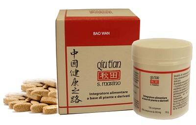 Qiu Tian Srl Bao Wan 100 Compresse