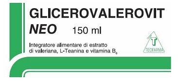 Teofarma Srl Glicerovalerovit Neo 150ml