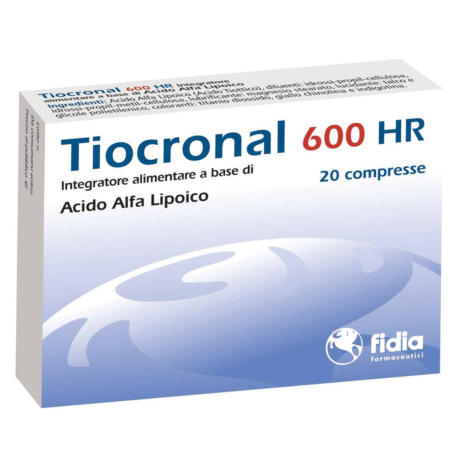 blv pharma group tiocronal 600-hr 20 cpr