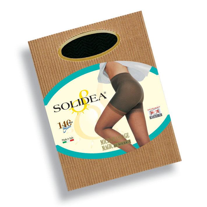 solidea by calzificio pinelli magic 140 collant anti cellulite sabbia 4 - l