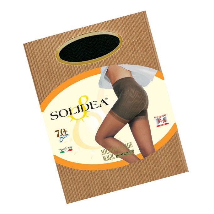 solidea by calzificio pinelli magic 70 collant anti cellulite nero 4 xl - xl