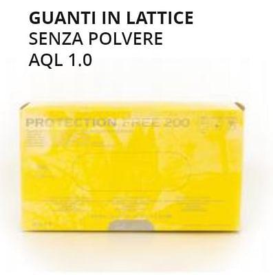 Gammadis Guanti Lattice Senza Polvere Medium 100 Pezzi