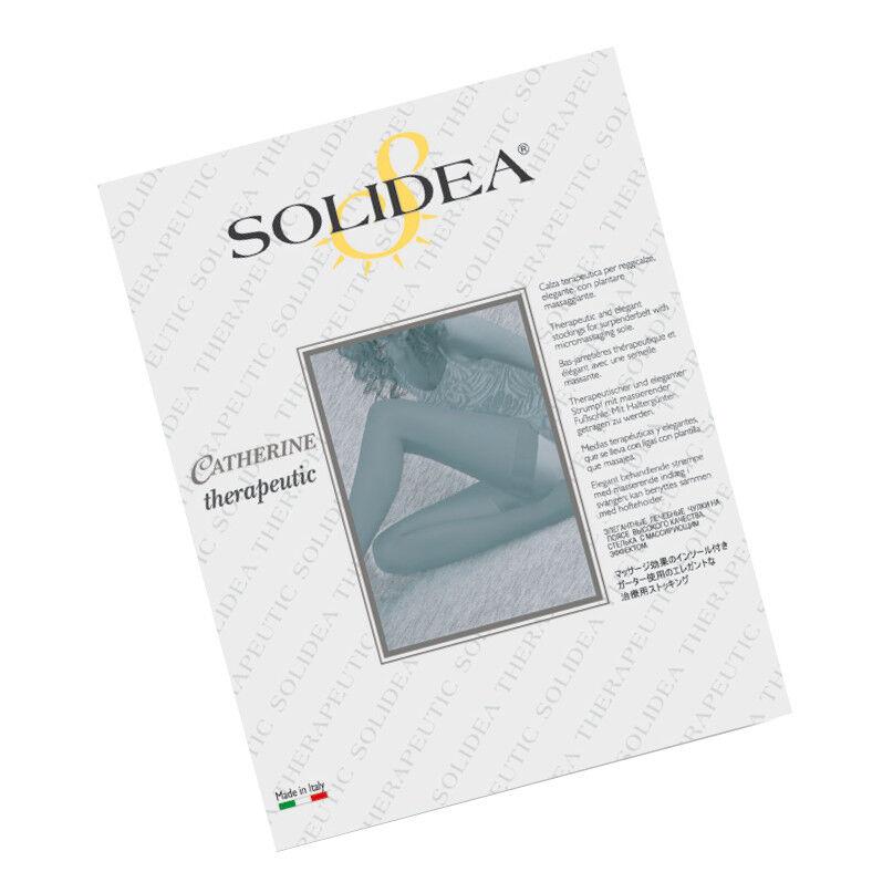 Solidea By Calzificio Pinelli Catherine Ccl 2 Reggicalze Blu Scuro Ml
