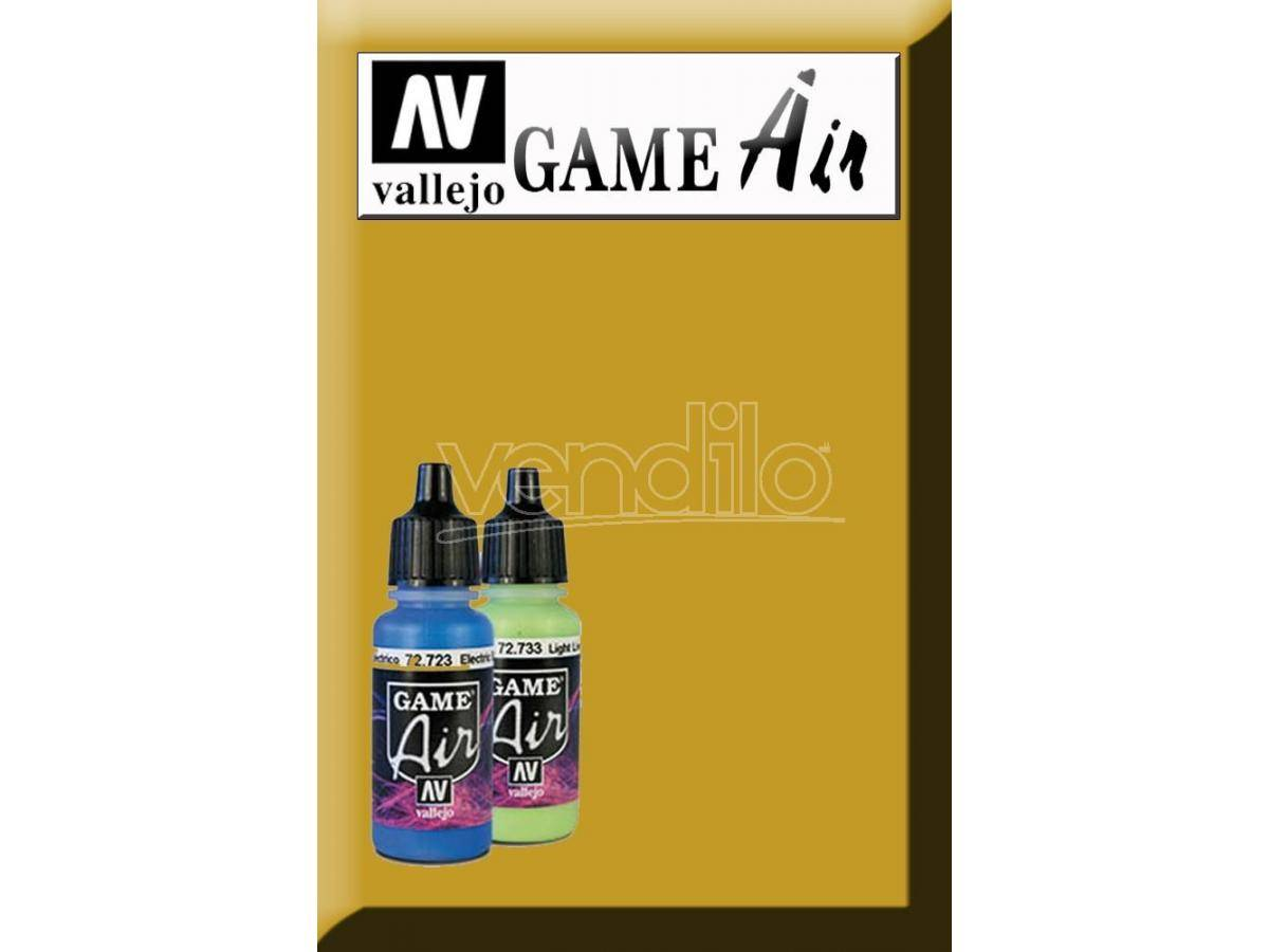 VALLEJO Game Air Polished Gold 72755 Colori