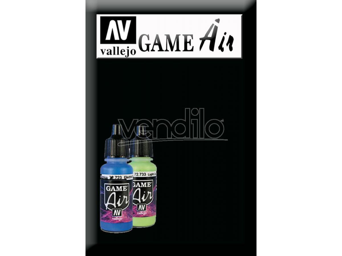 VALLEJO Game Air Black 72751 Colori
