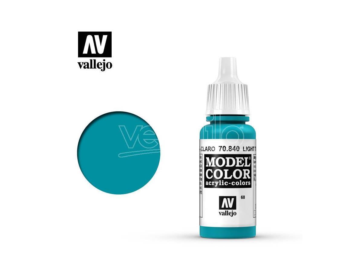 VALLEJO Mc 068 Light Turquoise 70840 Colori