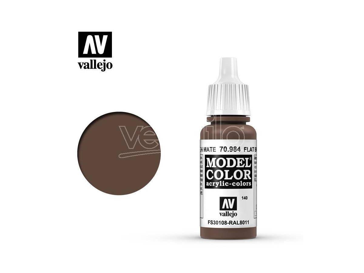 VALLEJO Mc 140 Flat Brown 70984 Colori
