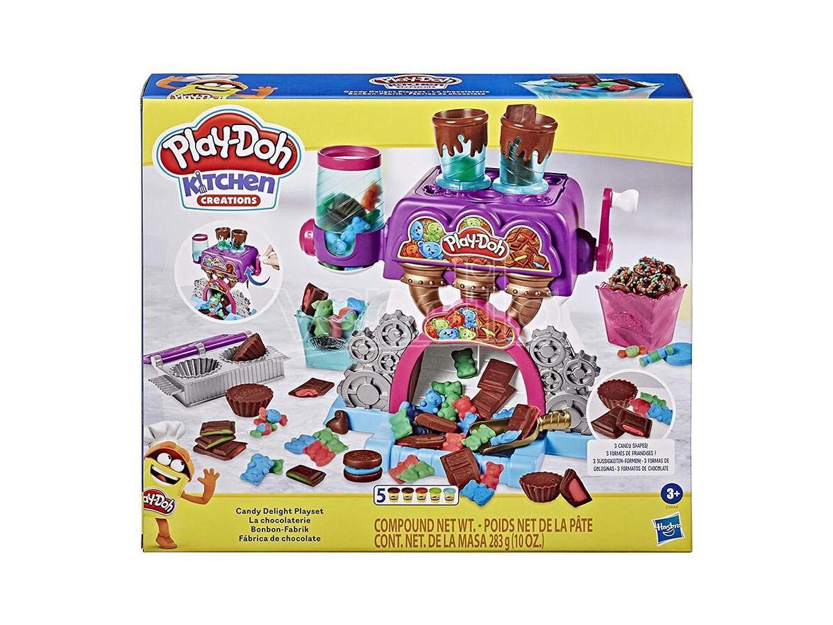 Hasbro Playdoh La Fabbrica Delle Caramelle Pasta Da Modellare - Giochi Educativi
