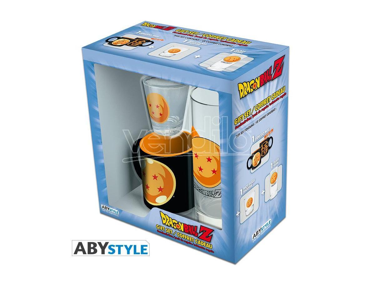 """ABYSTYLE Dragon Ball - Pck Bicchieri 29cl + Bicchierini + Mini Tazza """"Dragon Ball"""""""
