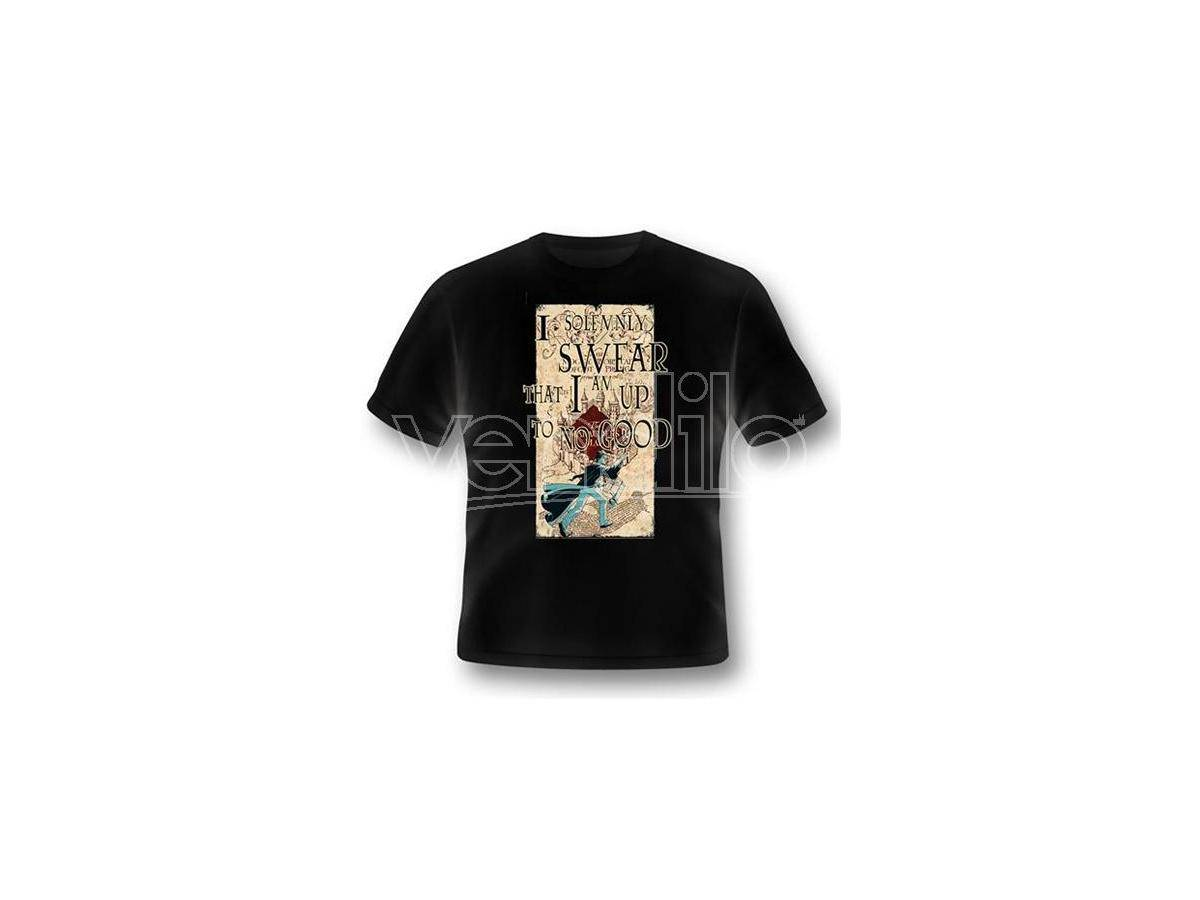 2BNERD T-Shirt Harry Potter Mappa Del Malandrino Taglia S T-Shirt