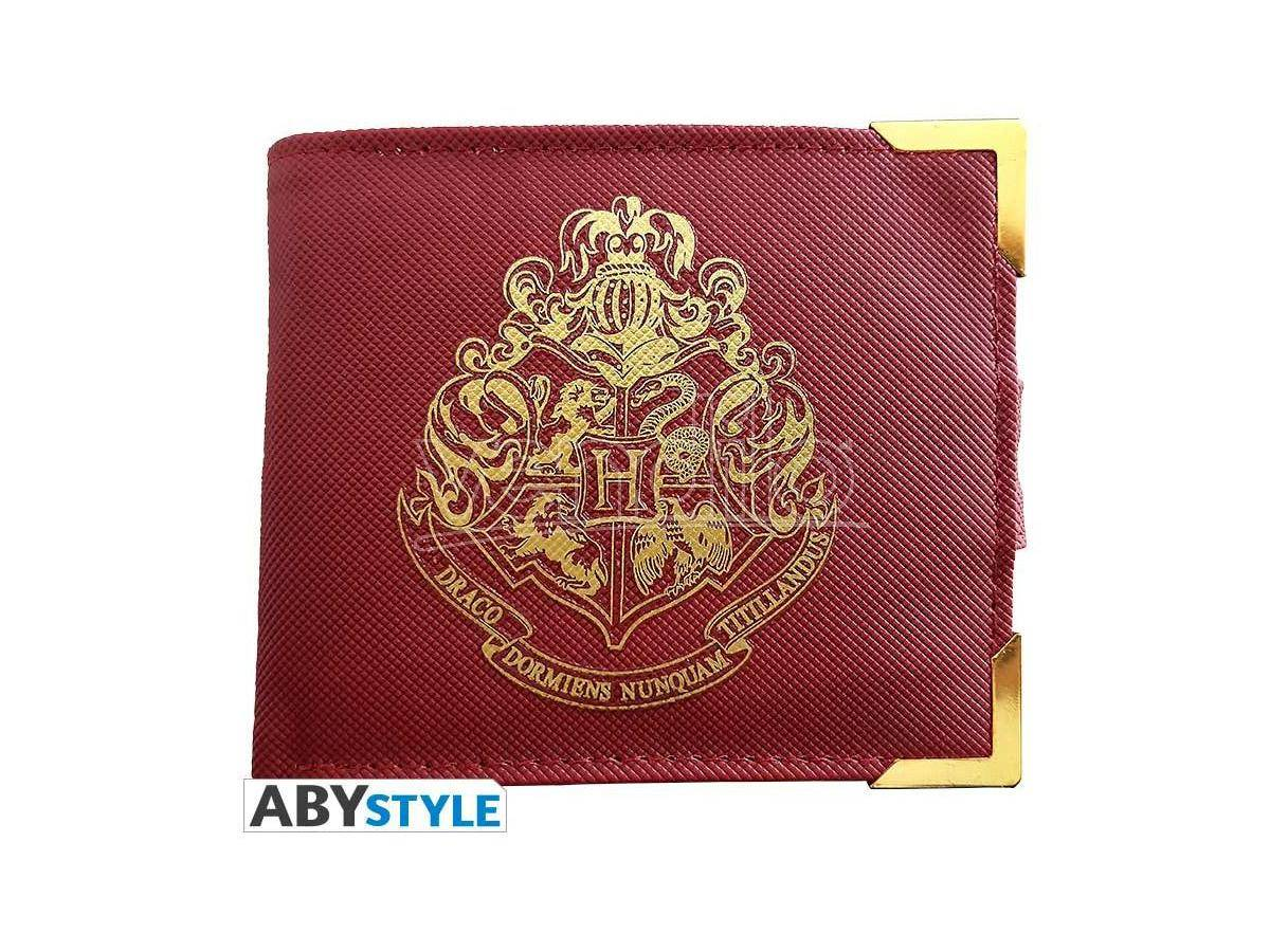 ABYSTYLE Harry Potter Portafoglio  Golden Hogwarts Gadget