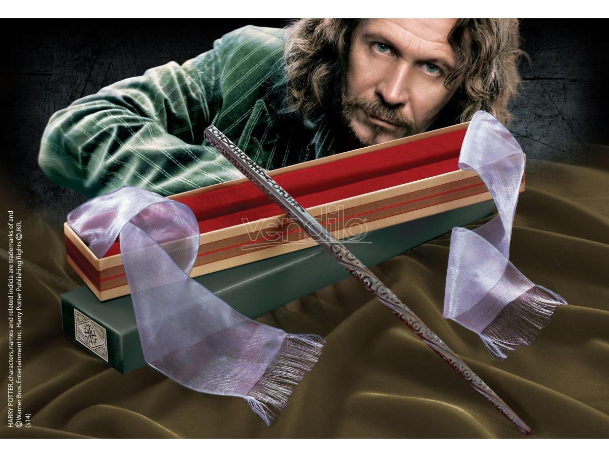 NOBLE COLLECTION Harry Potter Bacchetta Magica Sirius Black Ollivander