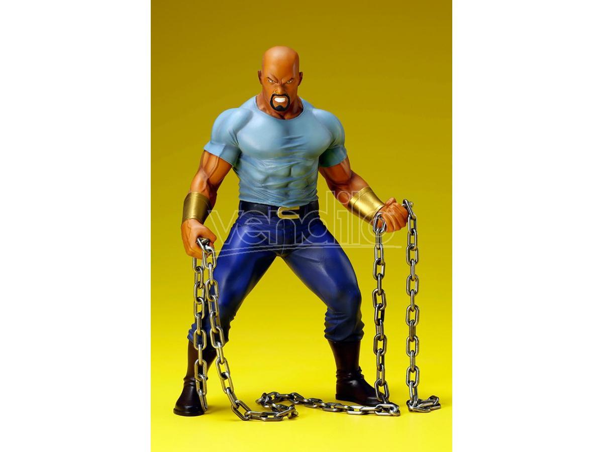 KOTOBUKIYA Marvel The Defenders Luke Cage Artfx 1:10 Pvc Figura