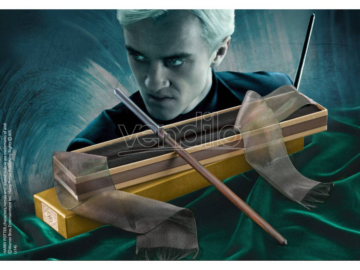 NOBLE COLLECTION Harry Potter Bacchetta Magica Draco Malfoy Olivander