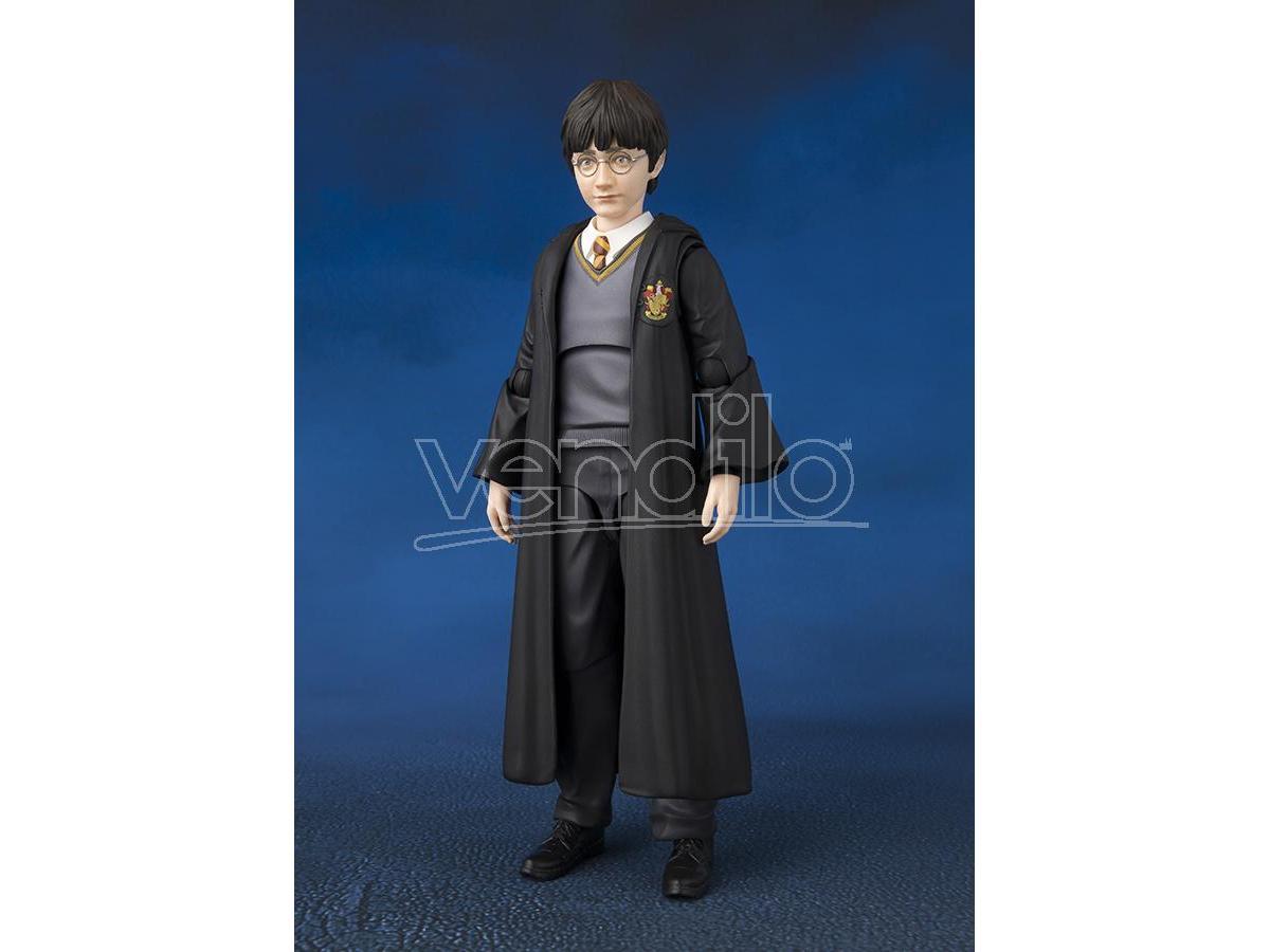 BANDAI Harry Potter  Sh Figuara Harry Con Edvige Action Figure