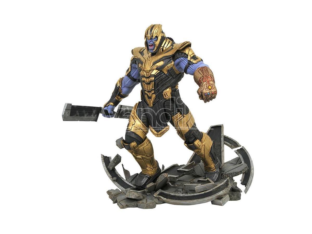 DIAMOND SELECT Marvel Milest Avengers 4 Armored Thanos Statua