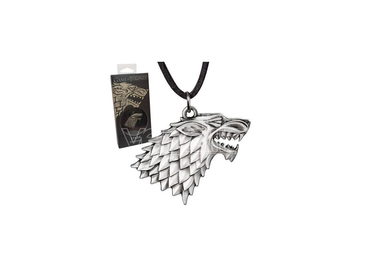 NOBLE COLLECTION Ciondolo Stark Shield Game Of Thrones Trono Di Spade