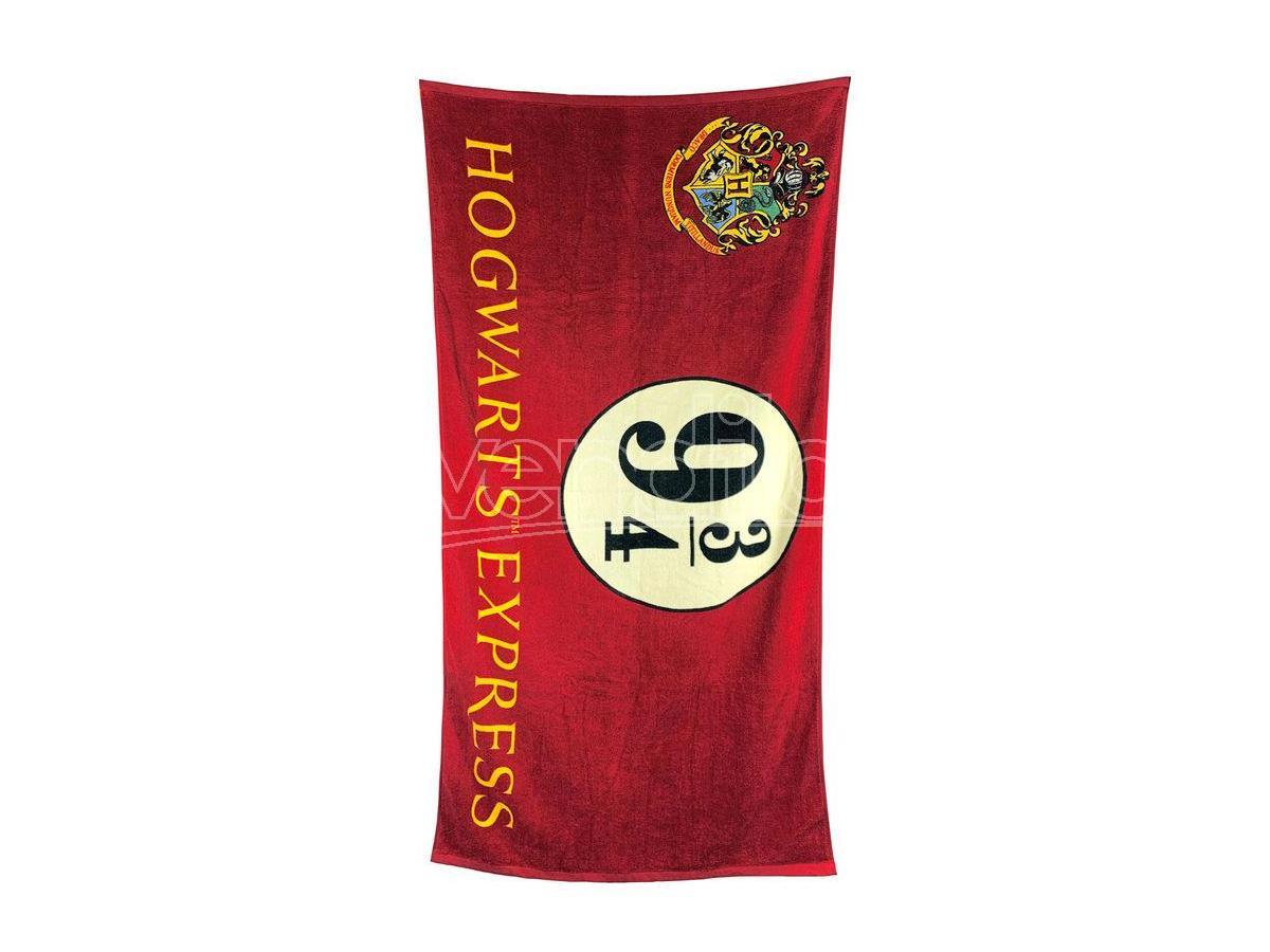 GROOVY UK LTD Harry Potter Asciugamano Espresso Per Hogwarts Binario 9 3/4 Cotone Groovy