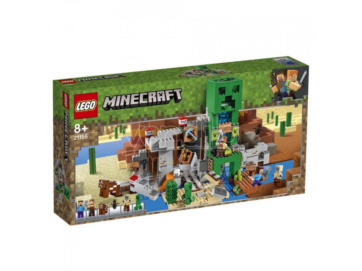 lego minecraft 21155 - la miniera del creeper