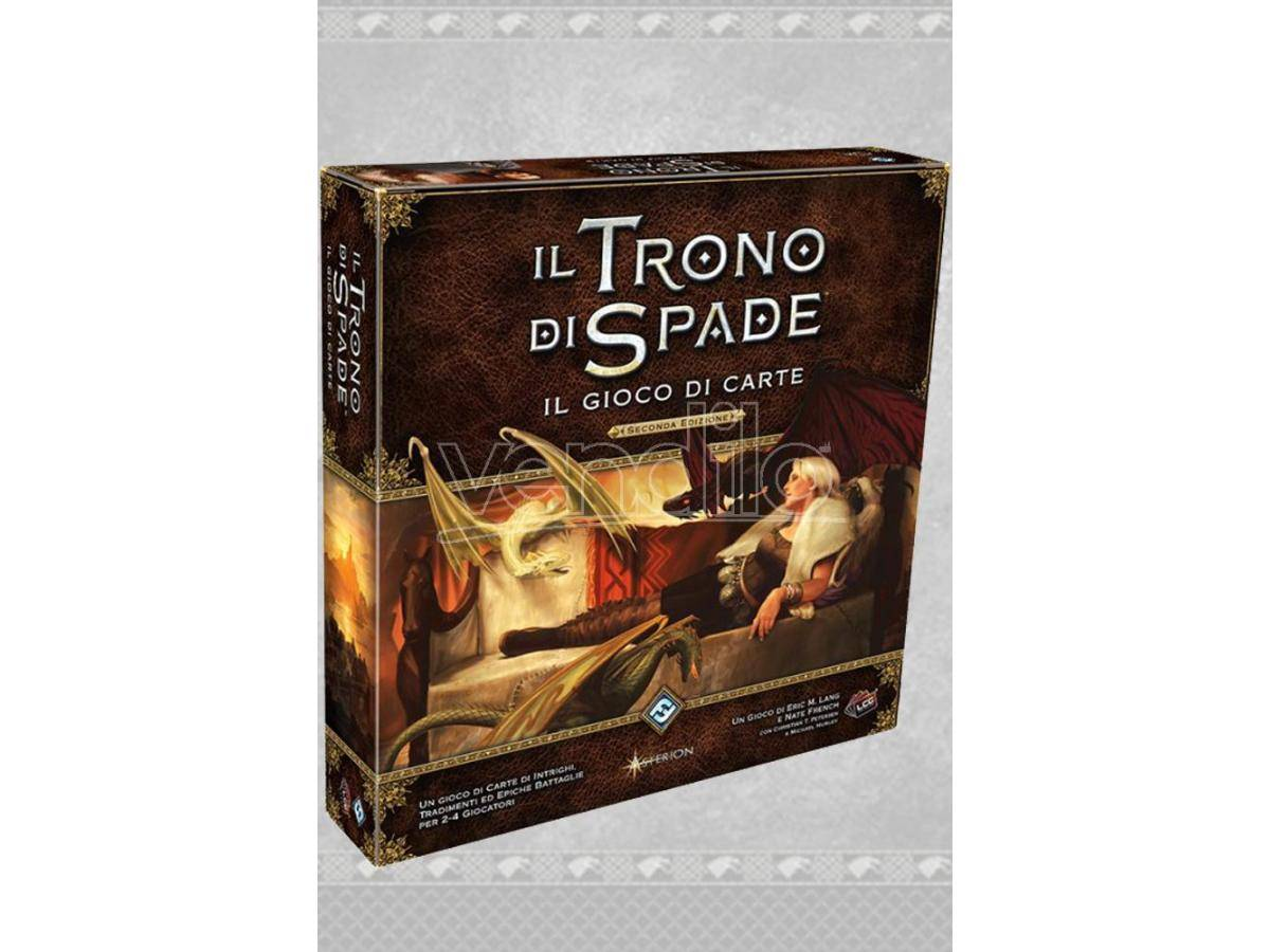 ASTERION Il Trono Di Spade Gioco Carte 2 Ed Gioco Da Tavolo