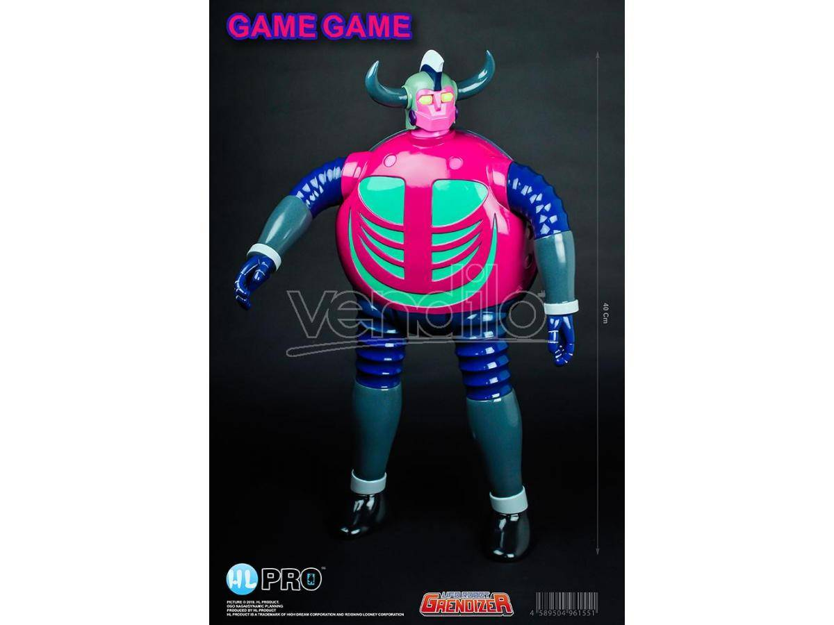 "high dream ufo robot grendizer game game 16"" fig figura"