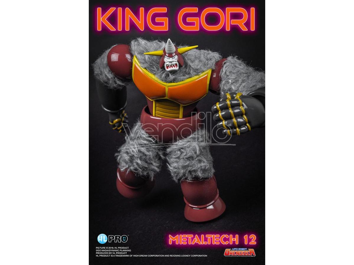 high dream metallotech 12 - grendizer king gori action figure