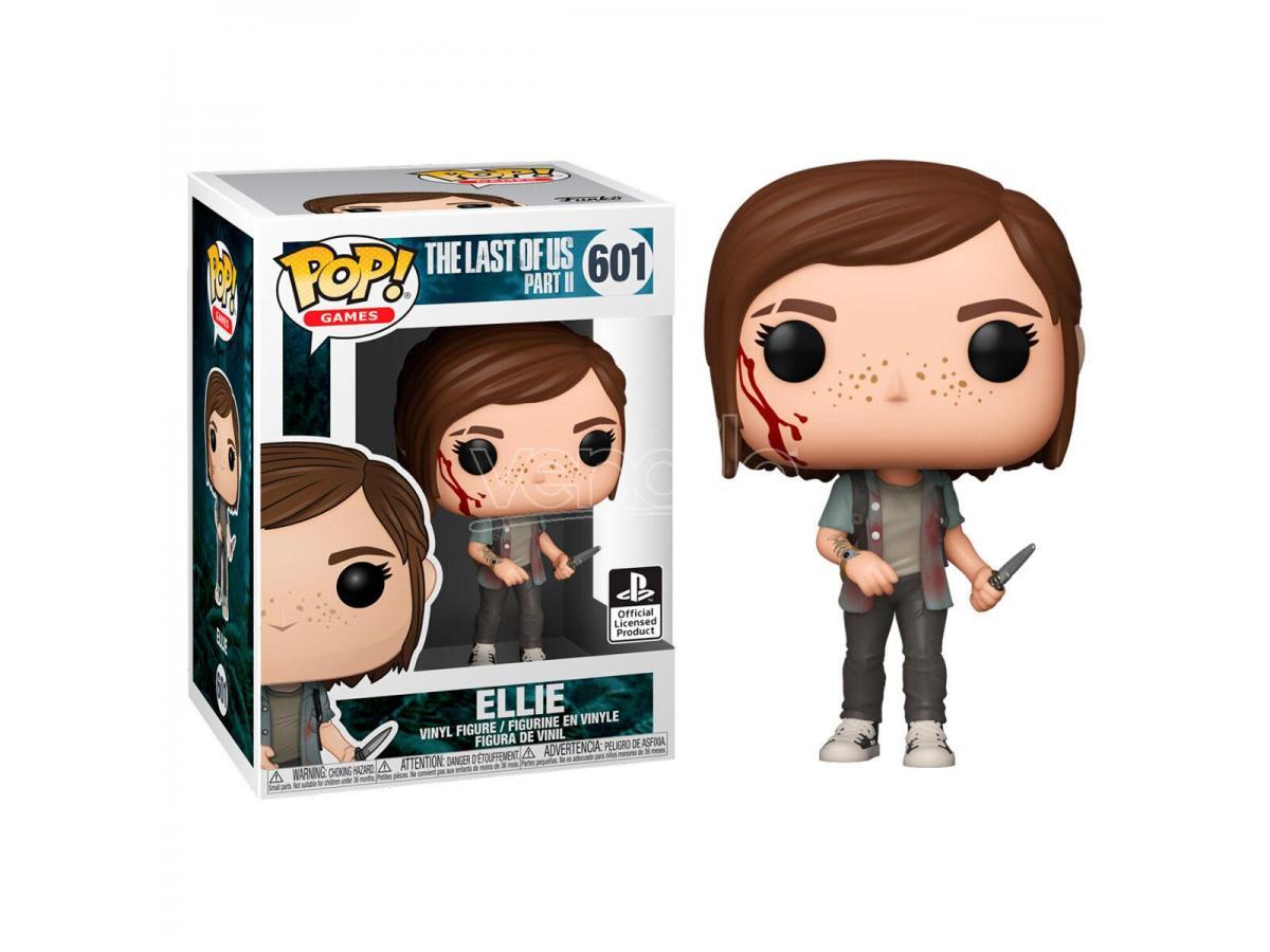 FUNKO The Last Of Us Pop Videogioco Vinile Figura Ellie 9 Cm