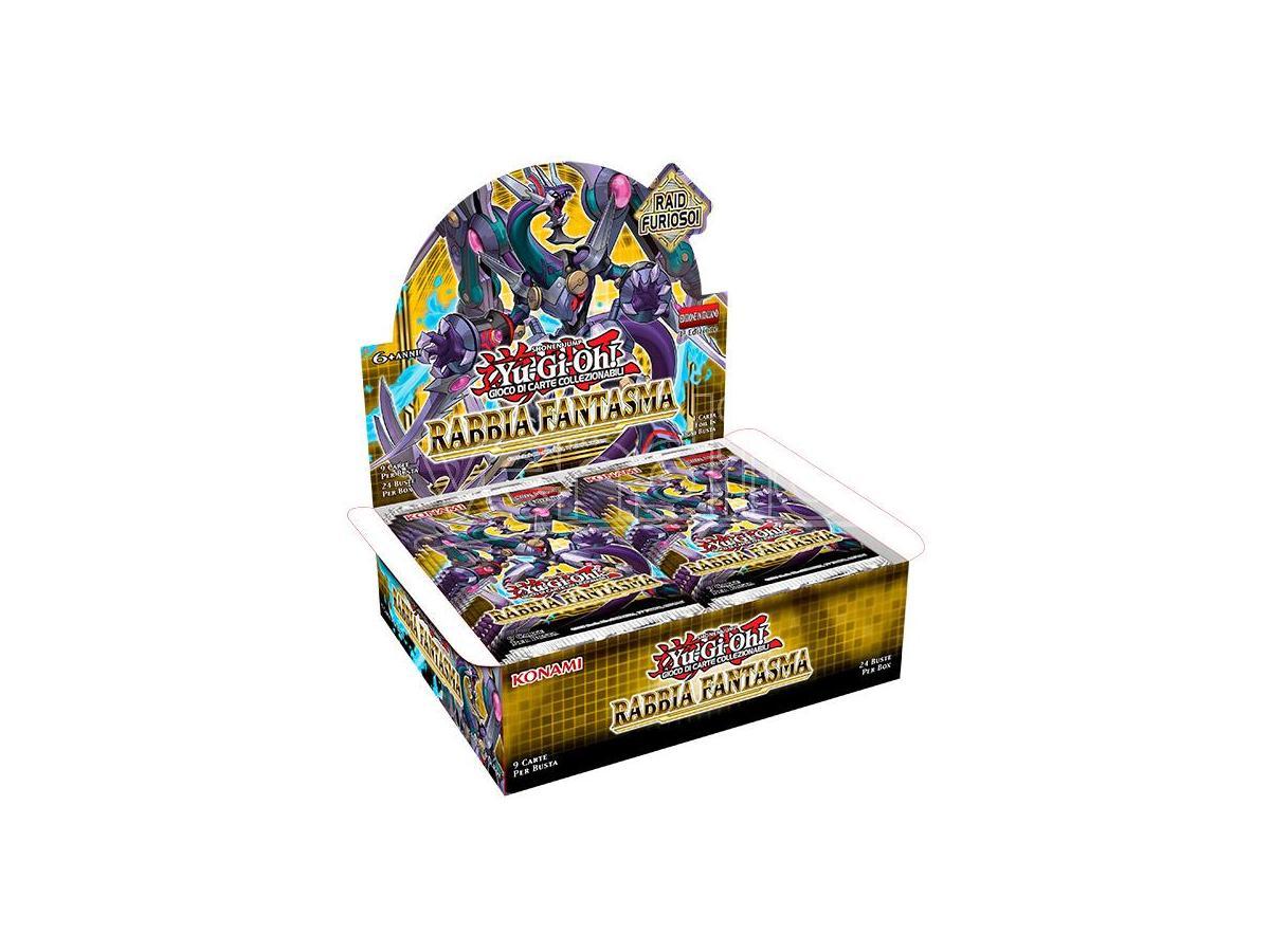 Konami Yu-Gi-Oh! Rabbia Fantasma 1ma Ed Busta Carte - Da Gioco/collezione