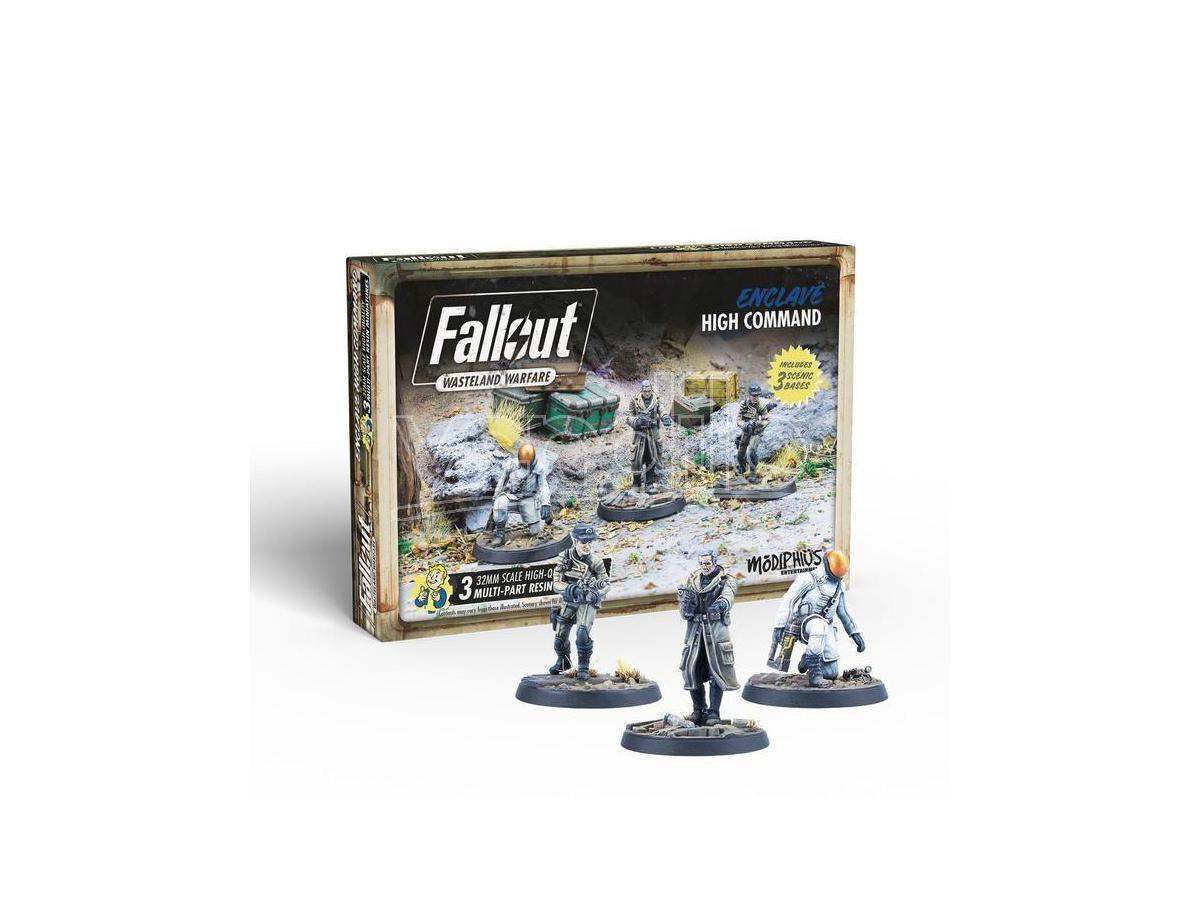 modiphius fallout ww enclave high command gioco da tavolo