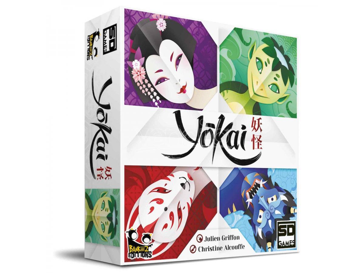 sd games yokai spagnolo gioco da tavolo