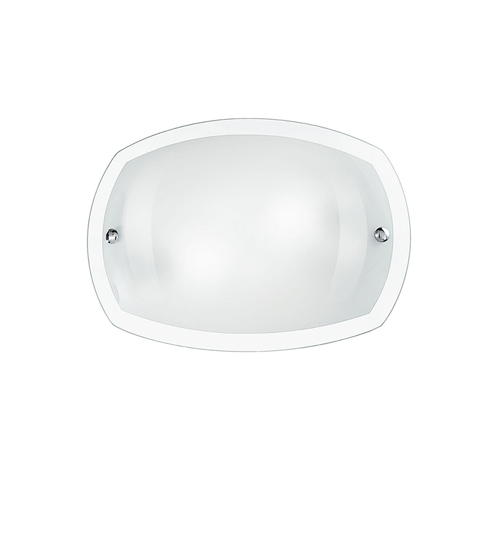Fan Europe Lighting Plafoniera Bomba Bianca 1xe27 35x25cm