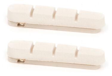 Elvedes Cartuccia pastiglie freno elvedes 55mm per campagnolo bianca