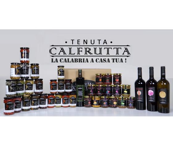 Mondo Calfrutta - Box Prodotti Tipici Calabresi - Spedizione Inclusa Nel Prezzo