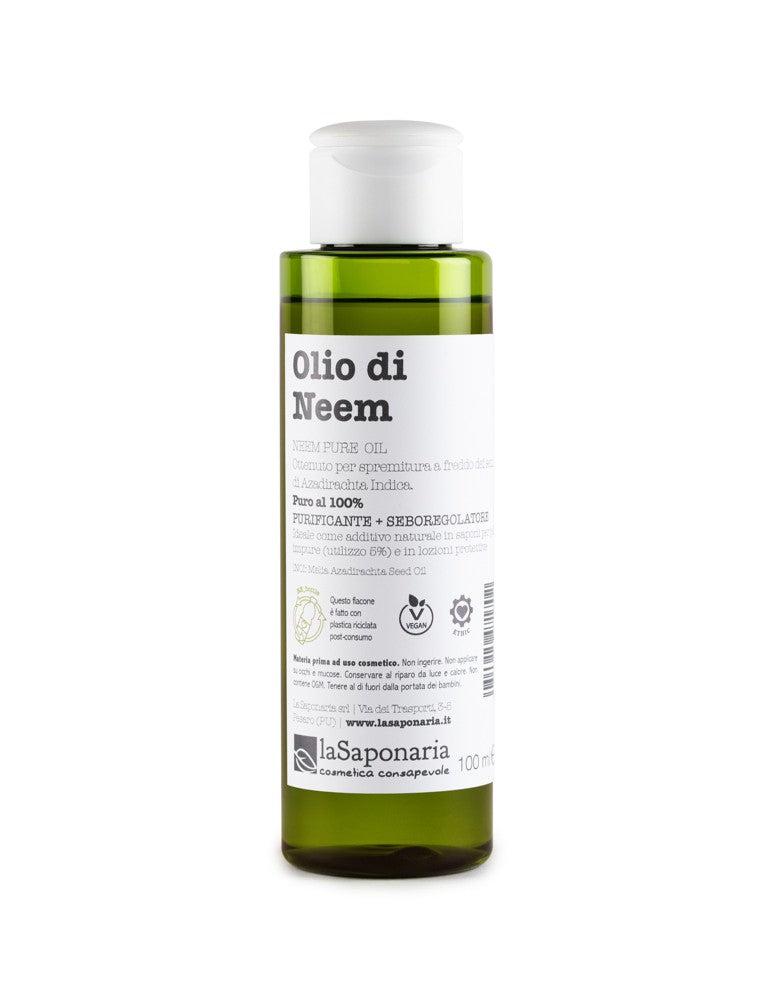 la saponaria olio di neem antibatterico da 100ml, la saponaria