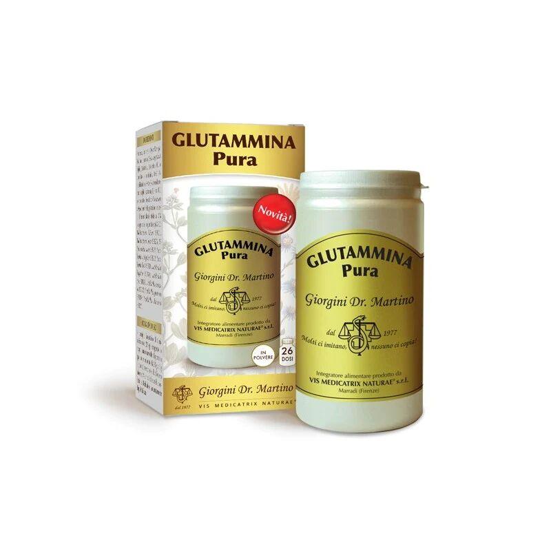 dr giorgini glutammina pura integratore alimentare in polvere per aumentare l'apporto nutrivivo nella dieta da 100gr, dr giorgini