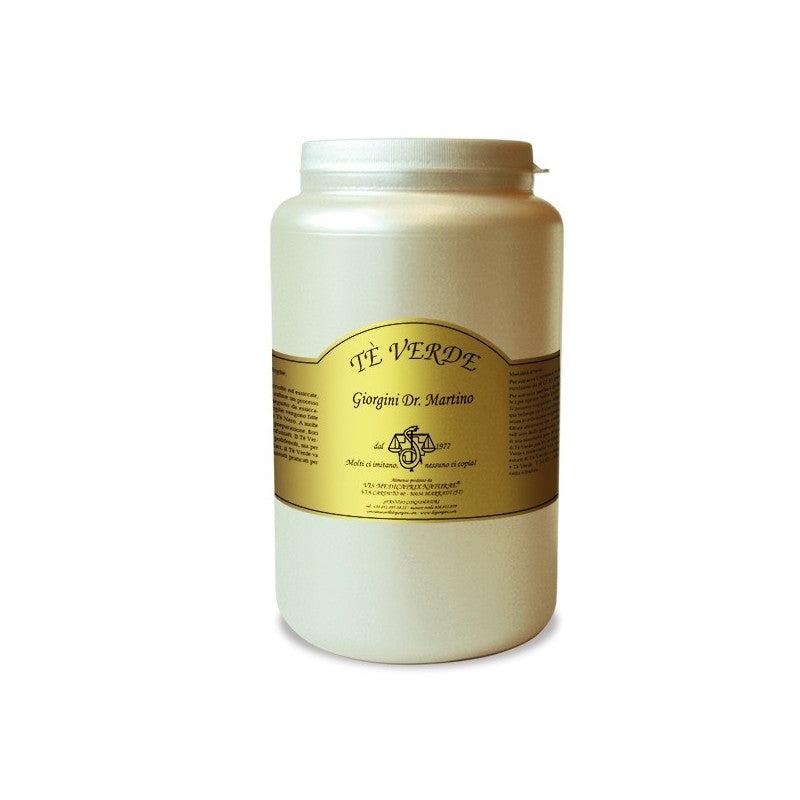 dr giorgini tè verde in polvere per il colesterolo e la dieta da 650gr, dr giorgini