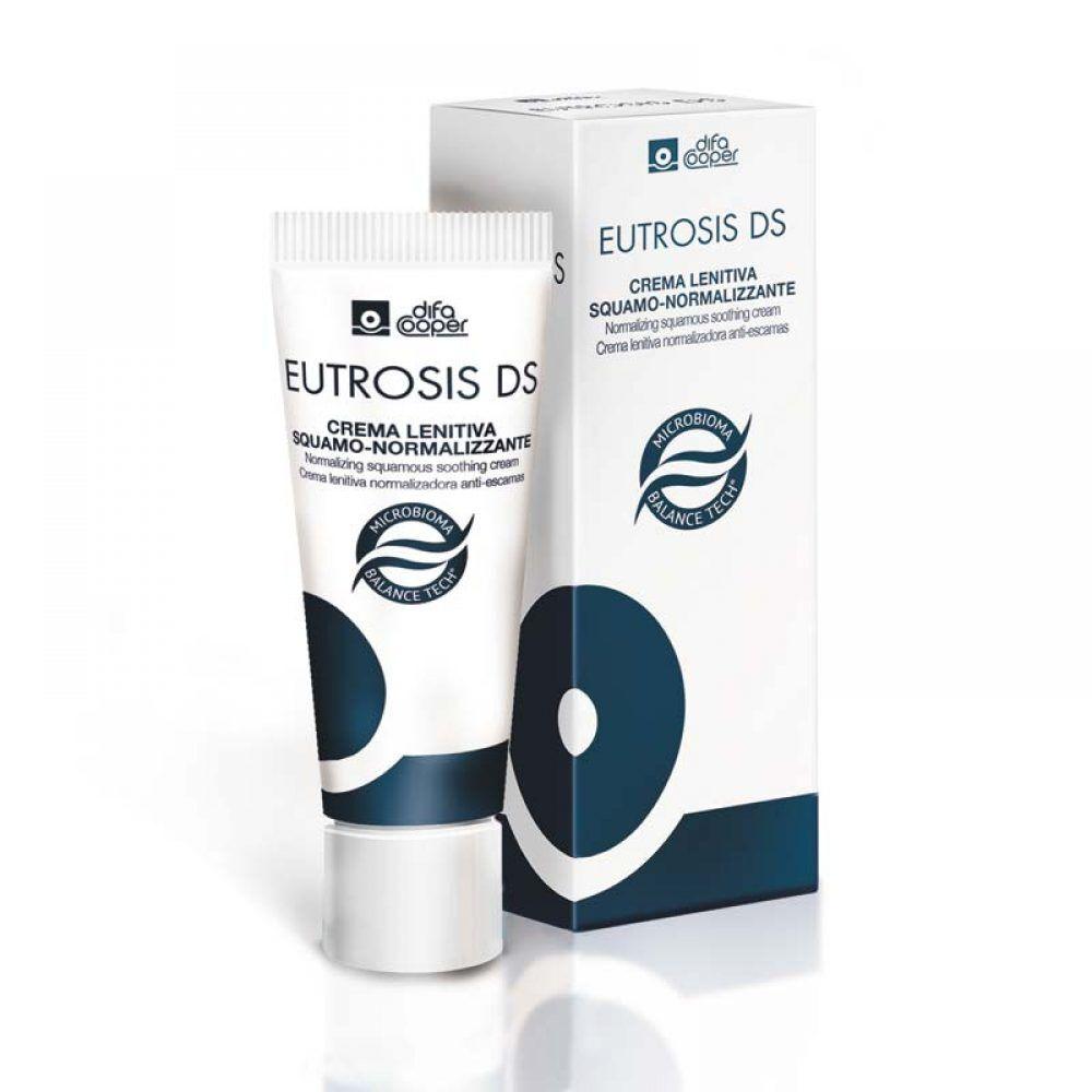 difa cooper eutrosis ds crema viso coadiuvante a base di microbioma balance tech da 30ml per pelle con dermatite, difa cooper