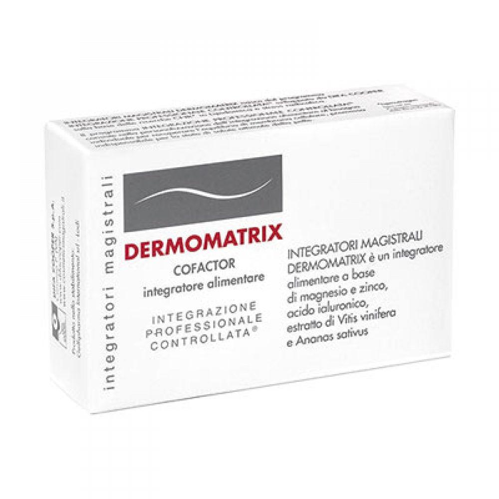cosmetici magistrali dermomatrix integratore alimentare a base di zinco, magnesio, ed estratto di ananas da 20capsule, cosmetici magistrali