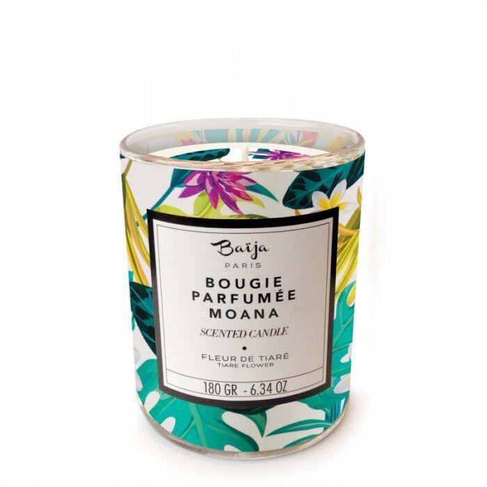 baija paris baija candela profumata moana fleur de tiare 180 gr / 6.34 oz
