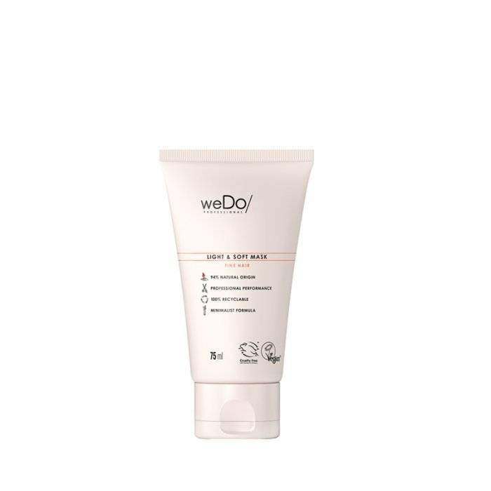 wedo professional wedo light & soft mask 75 ml / 2.53 fl.oz