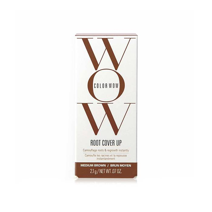 Wow Color Root Cover Up Medium Brown Castano Medio 2.1 G / 0.70 Fl.Oz