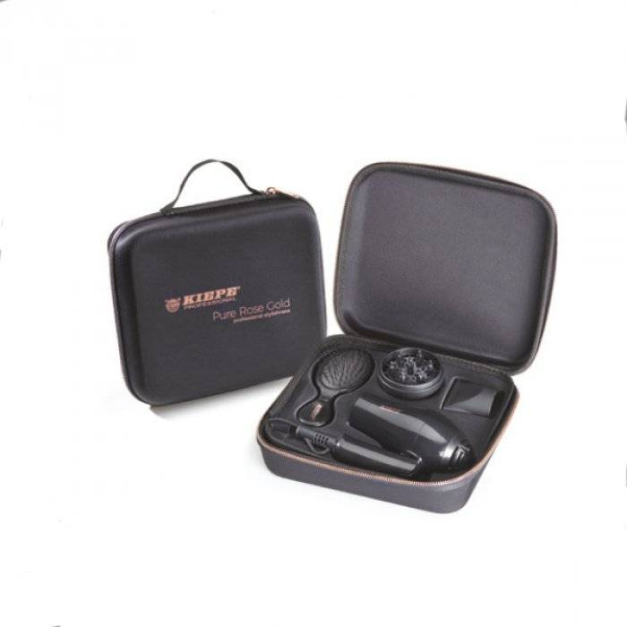 kiepe professional kiepe travel kit - phon - diffusore e spazzola