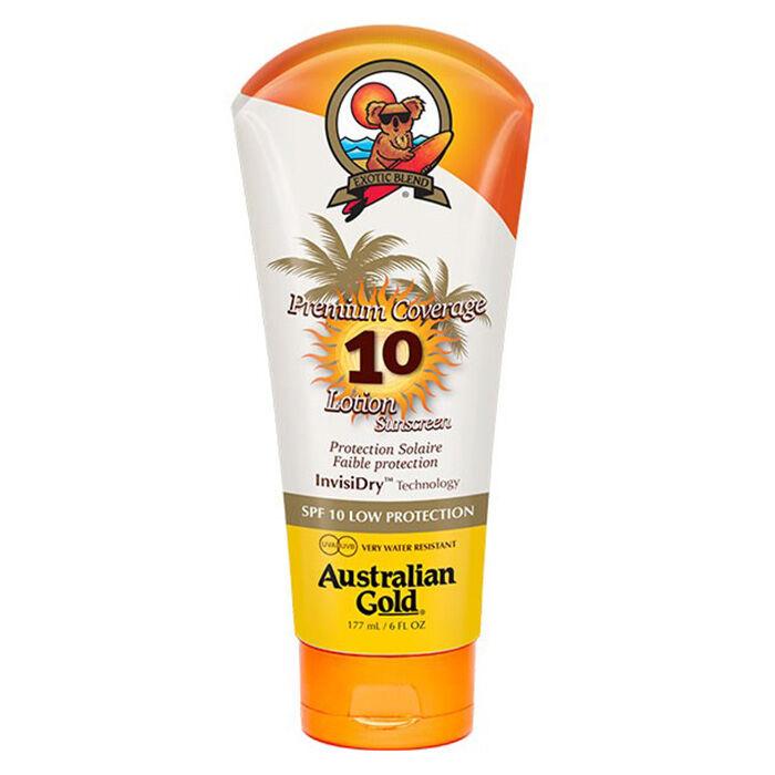 Australian Gold Premium Coverage Spf 10 Lotion Sunscreen 177 Ml / 6.00 Fl.Oz