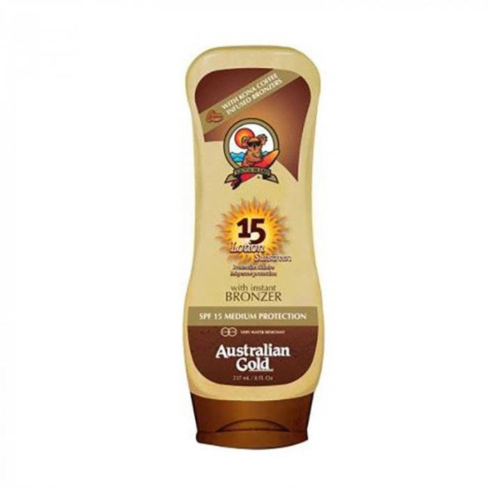 Australian Gold Spf 15 Lotion Sunscreen Kona Coffee 237 Ml / 7.00 Fl.Oz