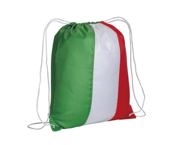 Zainetto Tricolore Con Personalizzazione