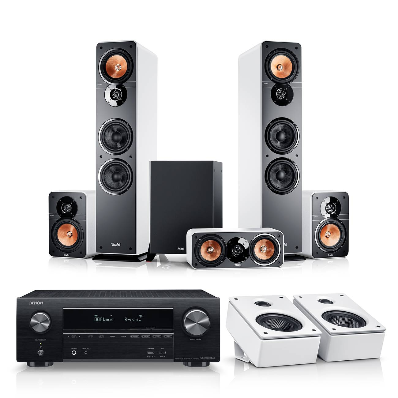 Teufel Ultima 40 Surround AVR for Dolby Atmos