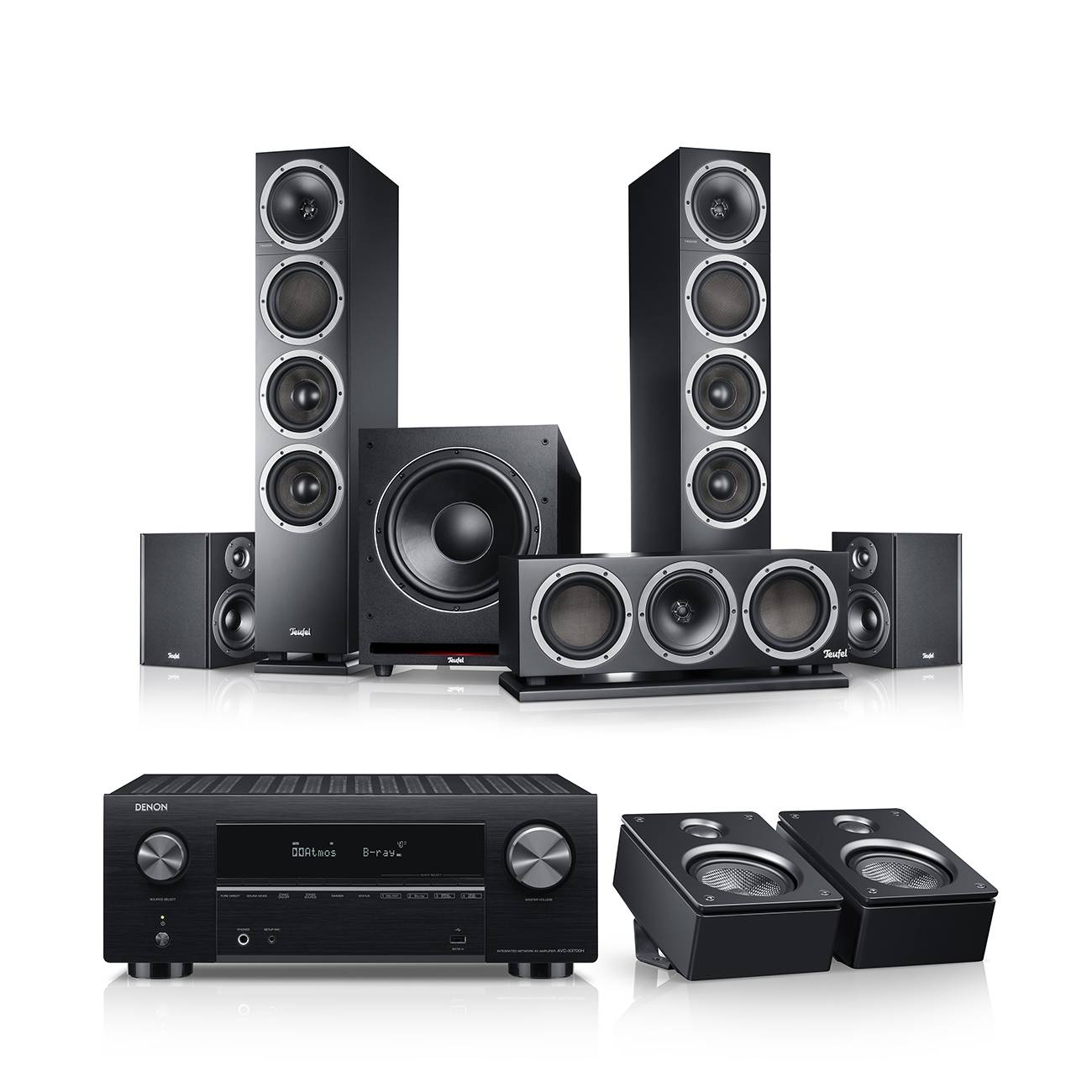Teufel Theater 500 Surround AVR per Dolby Atmos