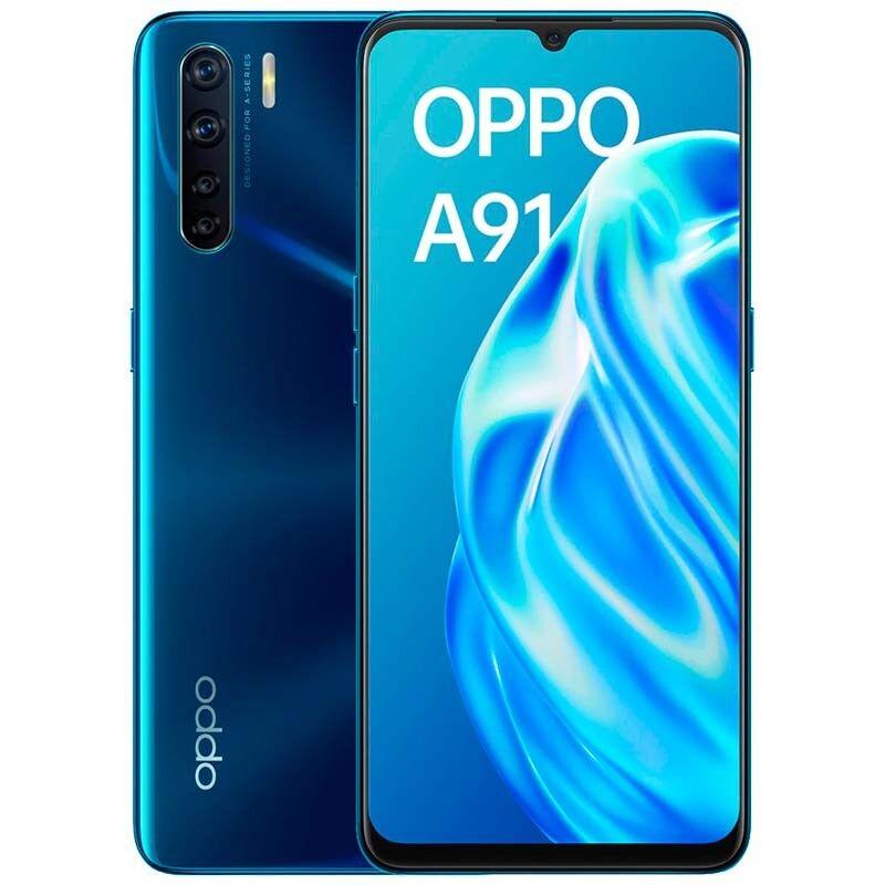 Oppo A91 Dual Sim 8GB RAM 128GB - Blue