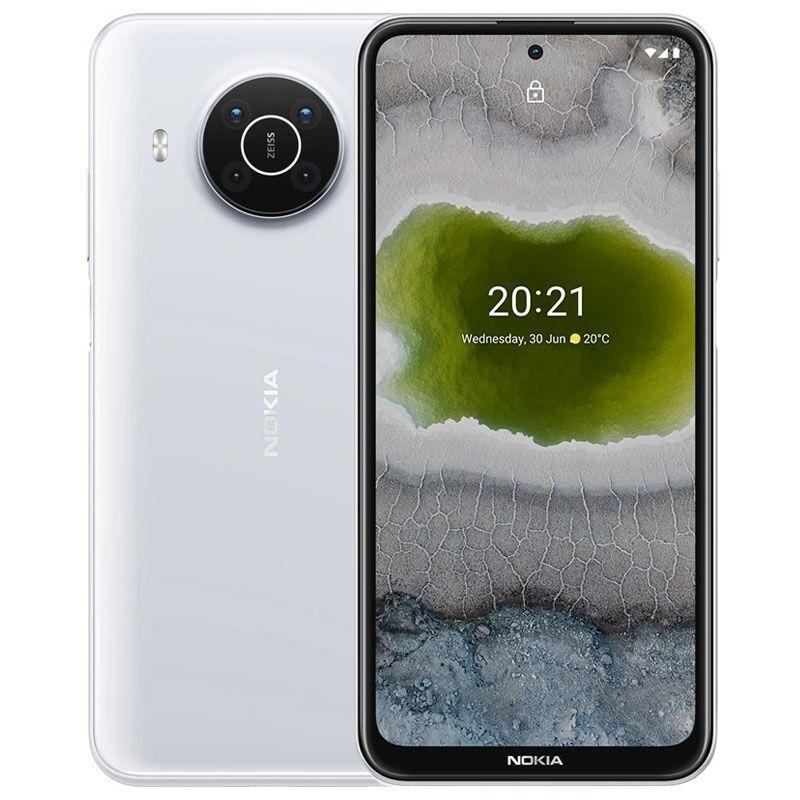 Nokia X10 Dual Sim 5G 4GB RAM 128GB - Snow